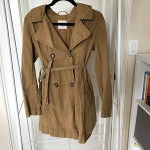 Old Navy Camel Trench Coat